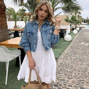 ZARA Fashion Bloggers Favorite Denim Jacket